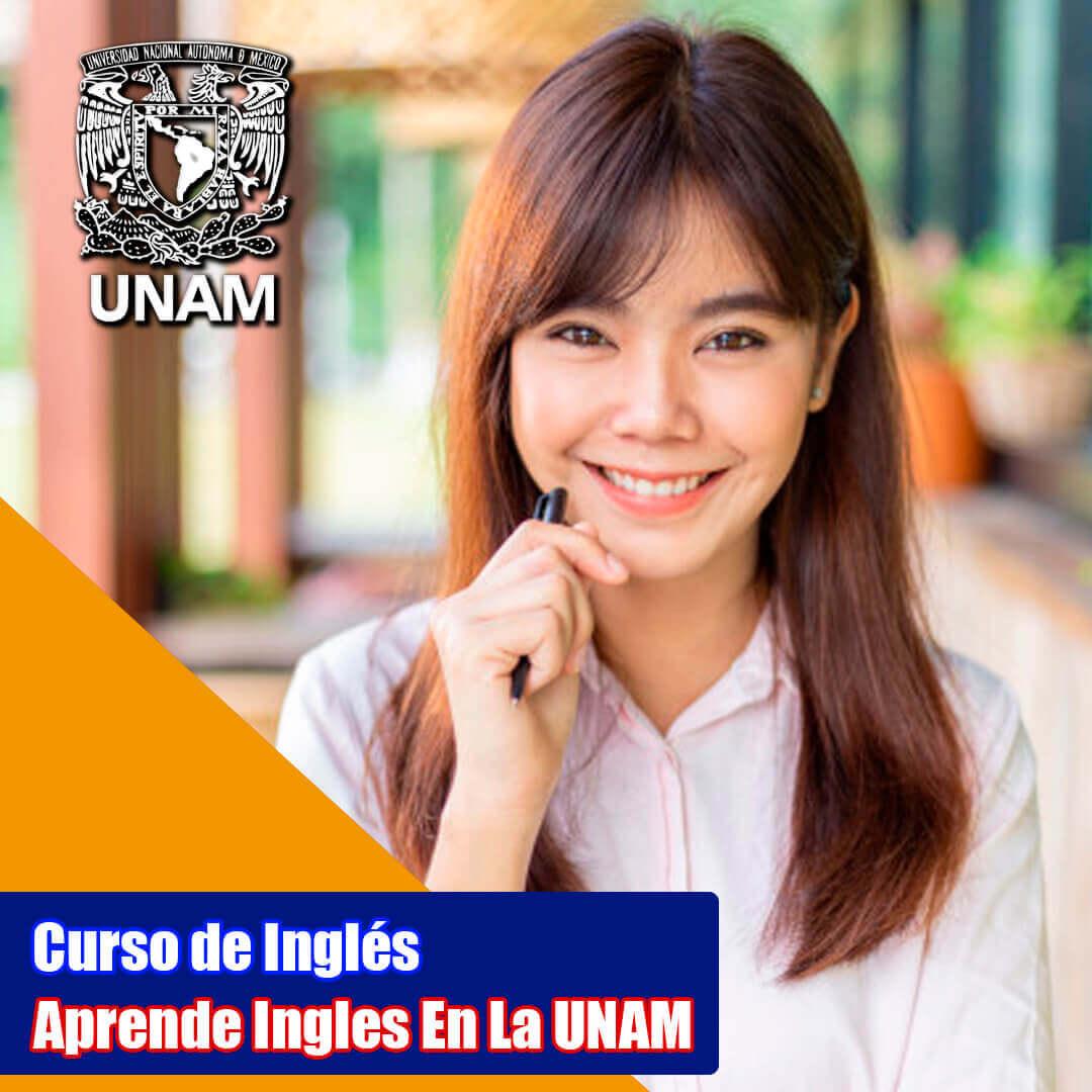 UNAM LA, ingles en linea